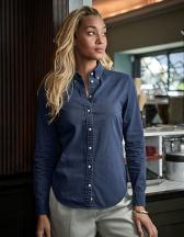 Womens Casual Twill Shirt