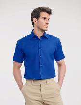 Men´s Short Sleeve Tailored Oxford Shirt