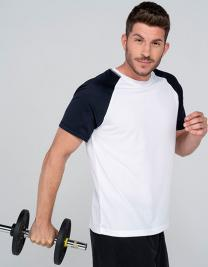 Sport T-Shirt Contrast Man