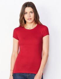 Women`s Baby Rib Crew Neck-T-Shirt